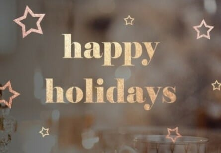 Holiday image for medical practice marketing